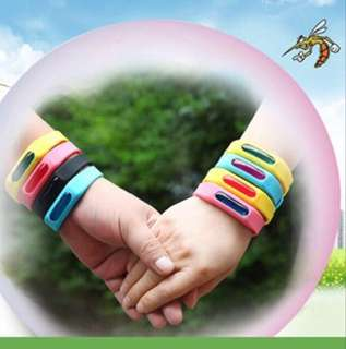 3 pcs $10: Assorted colors Waterproof mosquito wrist Can last for about 3 months Hit item in Japan and Korea