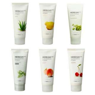 PRE-ORDER  The Face Shop Herb Day 365 Foam Cleanser