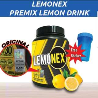 🍋★Price Bomb!★- LEMONEX 1 BOTTLE +FREE 1 Shaker Per Single Order🍋Lemonex Premix Lemon Drink (Slimming +Detox)