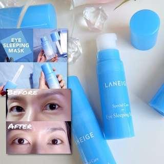 Laneige sleeping eye mask (blue tube)