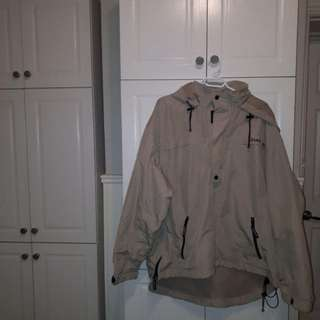 Rare Vintage Chaps Windbreaker size large