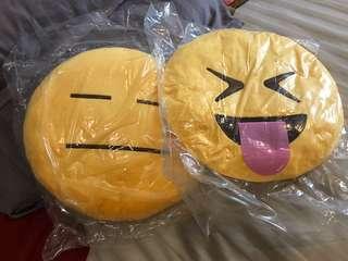 Emoji cushion (2pcs)