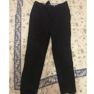 H&M Black Trouser Pants