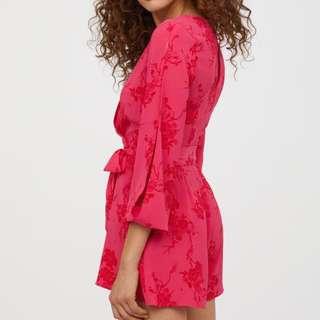 Flowy floral jumpsuit