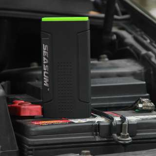 SEASUM 12800mAh Multi-function Car Jump Starter Power Bank