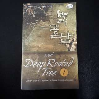 Buku novel sejarah: Deep Rooted Tree part 1
