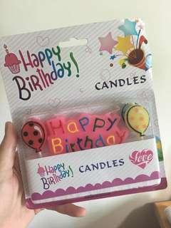 🚚 生日 蠟燭