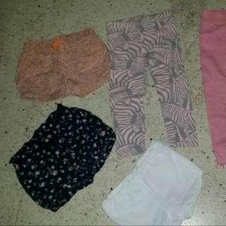 Blouses/shirt/short/leggings