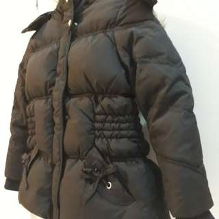 Winter Time Down Jacket for little girls