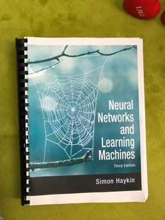 Neural Networks and Learning Machines Simon Haykin Third Edition