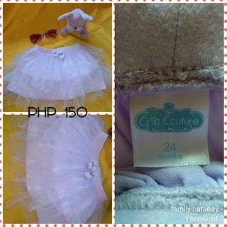 Crib cuture skirt