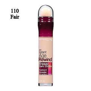  💕 Instock 💕 Maybelline Instant Age Rewind Eraser Dark Circles Treatment Concealer 💋  #110 Fair 💋