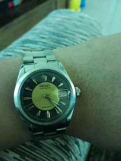 Authentic Rolex 6294 Oysterdate - Rare Gold Dial 1952