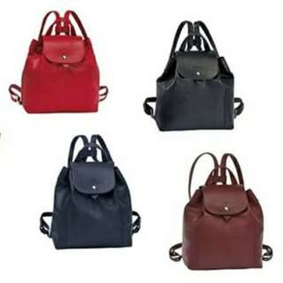 LONGCHAMP CUIR BACKPACK