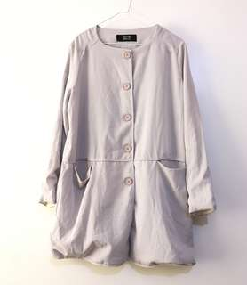 Charity Sale! Authentic Psyche Delic Made in Korea Flowy Loose Fit Women's Jacket Size Large