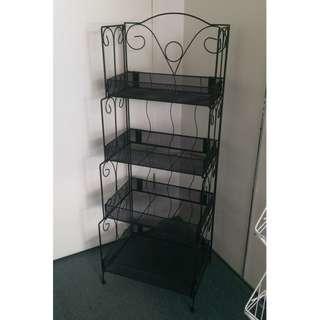 4 Layer Display Rack ( Black )