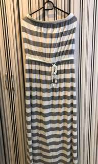 Old Navy strapless long dress (w/ cut tag)
