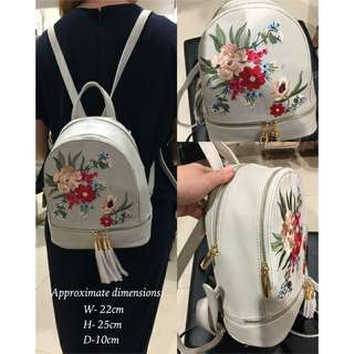 Sale! Ever New Embroidery Backpack