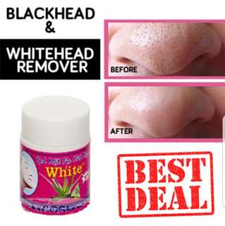 Remover of black and whiteheads