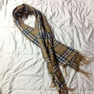 BURBERRYS PATTERNED FALL SCARF $50USD