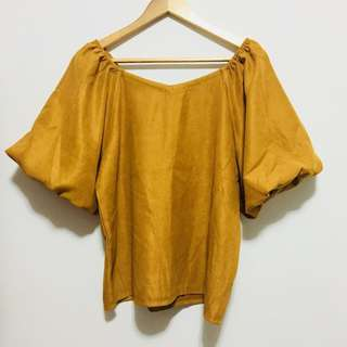 New! Dainty Canary Blouse from Japan