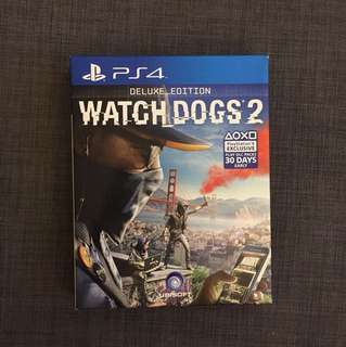 Watch Dogs 2 Deluxe Edition PS4