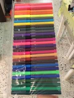 Magic colour pen