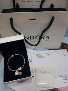 Pandora Bracelet Gold diamond