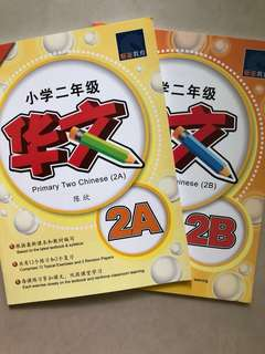 Primary Two Chinese assessment books