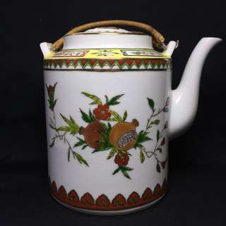 Hand Painted Tea Pot 1980s