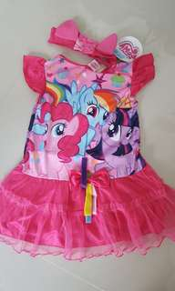My Little Pony Dress and head band