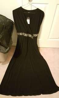 Black dress, Size 8