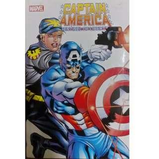 Captain America Sentinel of Liberty hardbound