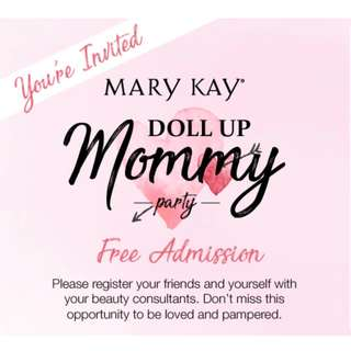 Doll Up Mommy Party