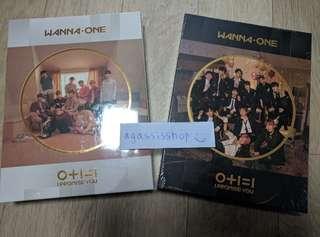 (2-album set) Wanna One IPU I Promise U Album Day & Night
