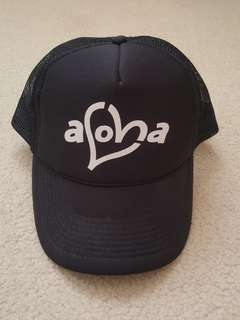 Aloha trucker cap