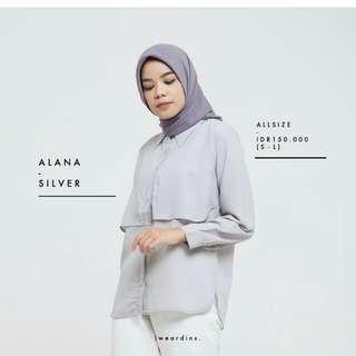 Alana shirt grey