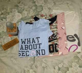 Shirts for 50 pesos