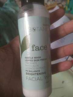 Botanica facial wash
