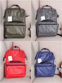 Ä N E L L O NYLON BACKPACK RESELLERS ARE WELCOME ❤️❤️ ✔️offers lowest price ✔paperbag  ‼️authentic overrun quality‼️  ✈️we ship worldwide ✈️we ship nationwide  🌻open for resellers 🌻pm us for orders