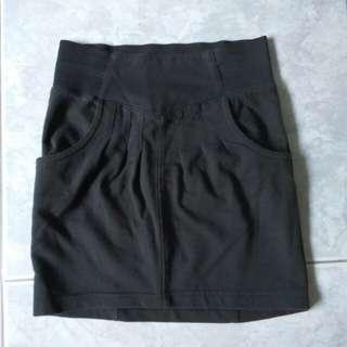 Fox Kids black A Line skirt