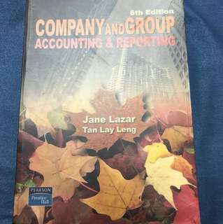 Company and Group Accounting & Reporting