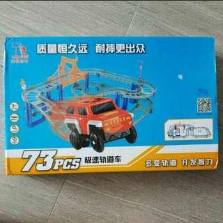 BNIB train track toy set