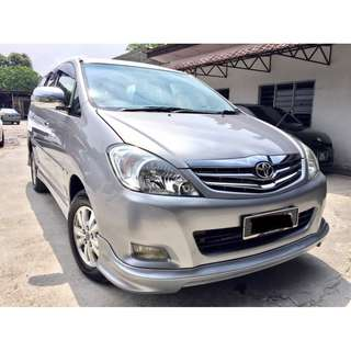 2012 Toyota Innova 2.0 (A) G NEW FACELIFT TIP TOP
