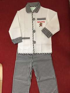ELC Chef Outfit 3-4 years