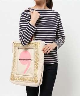 包郵日本 潮牌 Mercibeaucoup 手提布袋