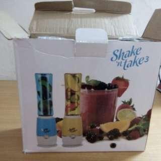 Blender Shake n Take 3 (baru, dpt hadiah), harga nett