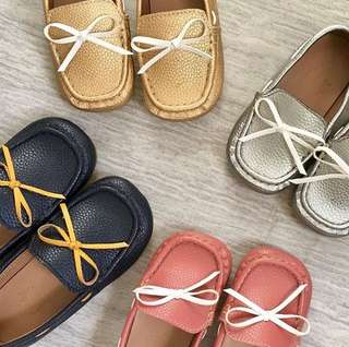 Ribbon loafers for boys and girls 😍