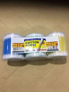 [Limited Stock] Cotton Bud 3 Bottles 1200tips