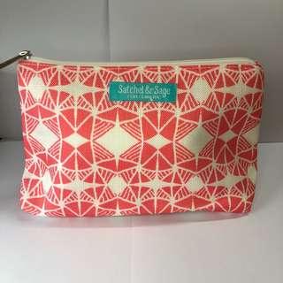 Clinique Satchel & Sage Makeup Bag/Pouch